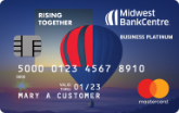 Midwest BankCentre Mastercard Business Platinum Credit Card