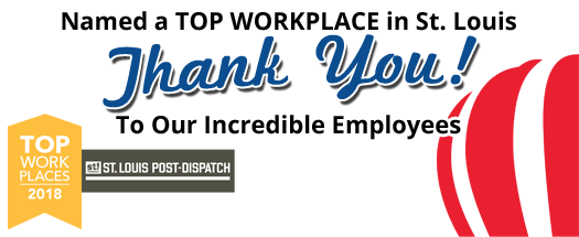 Named a Top Workplace in St. Louis.