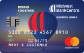 Midwest BankCentre Mastercard Business World Credit Card