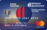 Midwest BankCentre Mastercard Business Rewards Platinum Credit Card