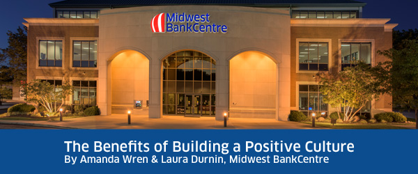 Evening Portrait of Midwest BankCentre's Lemay Branch