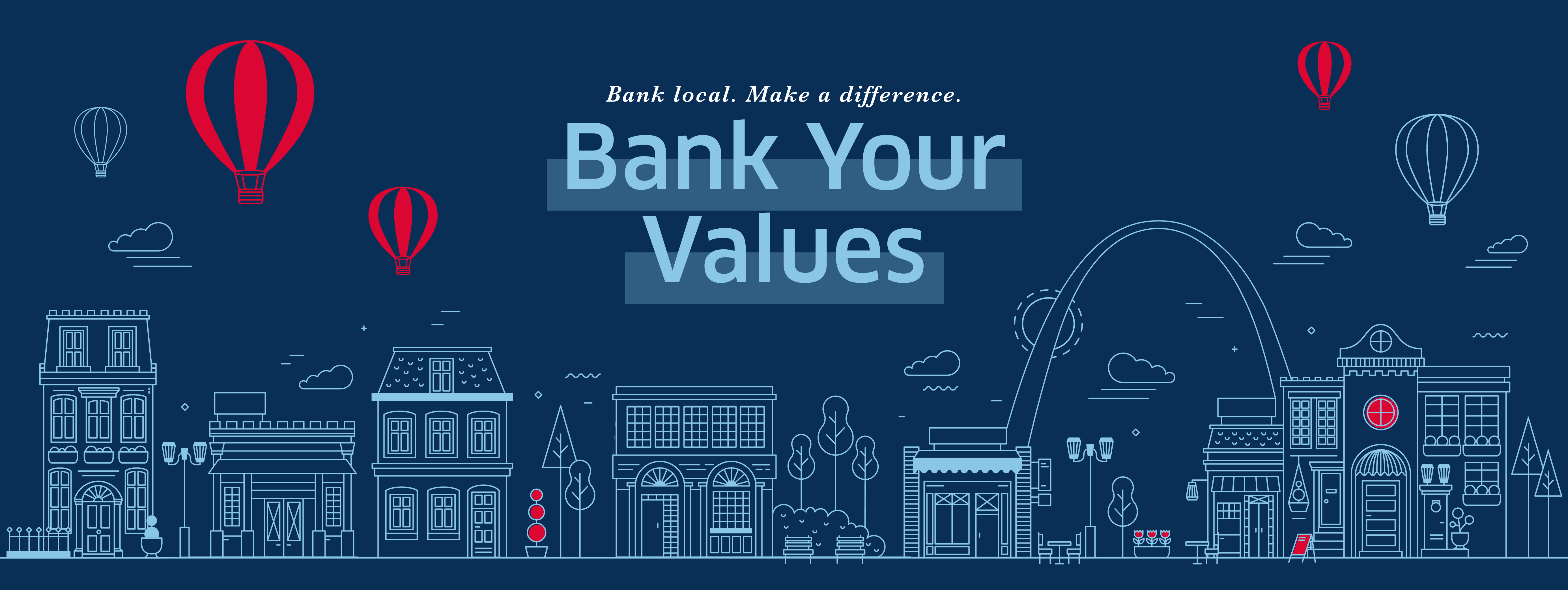 Bank Your Values Graphic